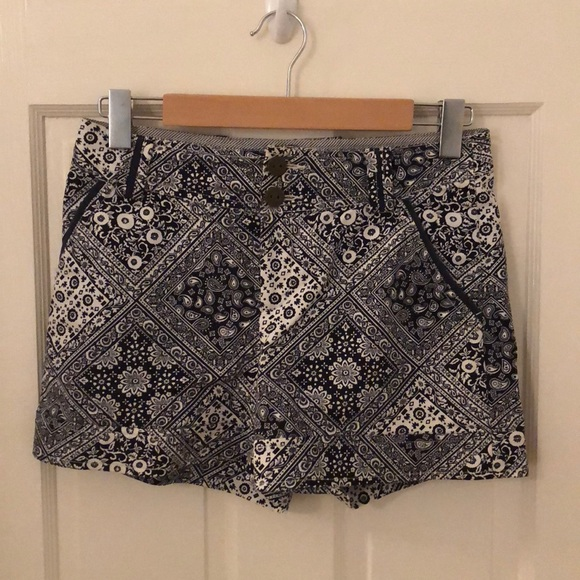 Anthropologie Pants - Anthropologie Cartonnier Mosaic Tile Shorts (Sz 0)